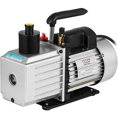 2-stage 8 Cfm Refrigerant Vacuum Pump Rotary Vane 1hp 12acme Ac R134a 500 Ml