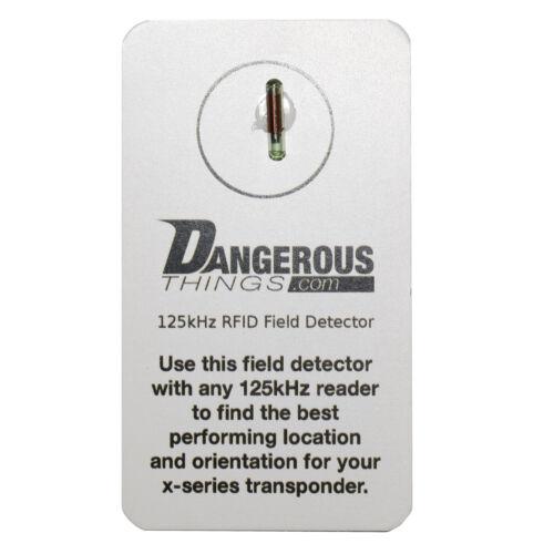 Free Shipping Dangerous Things xLED-LF Capsule 125kHz RFID Field Detector