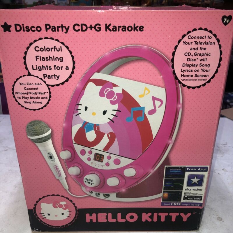 Hello Kitty Disco Party CD+G Karaoke