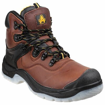 Amblers Safety FS197 Brown  Waterproof Safety Footwear Crazy horse leather S3 Brown Crazy Horse Footwear