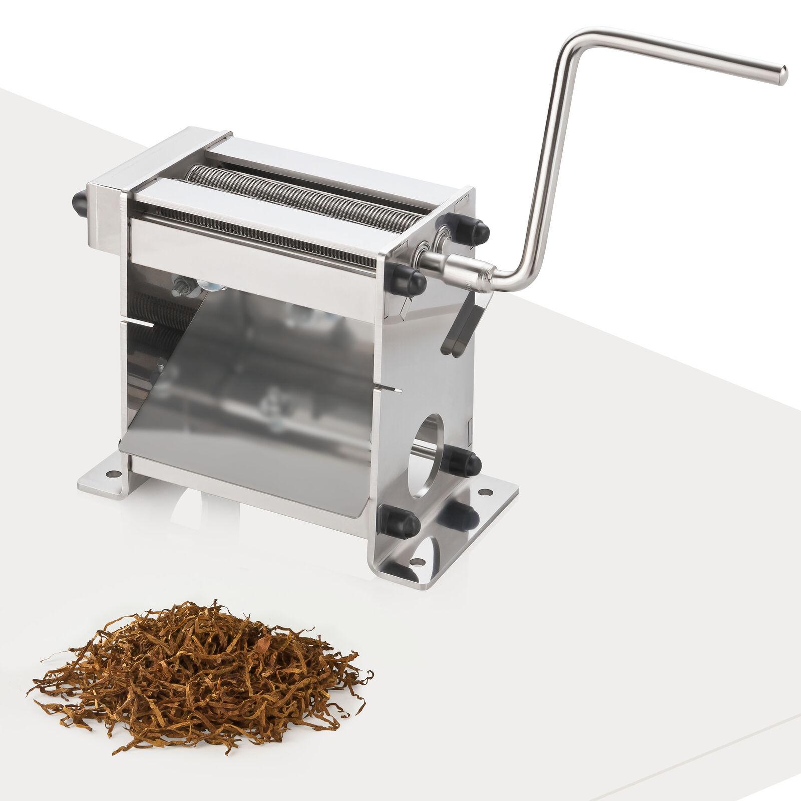 TC-100 Plus Kugellager 0,8mm Tabakschneider Tabakschneidemaschine Tabakblätter