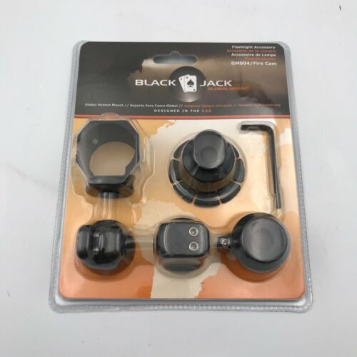 Blackjack Global Firefighter Helmet Flashlight/Cam System gm004/Fire Cam Mount