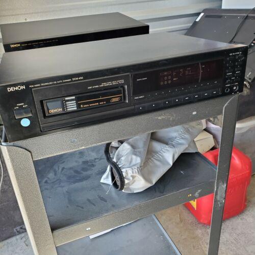 Denon DCM-450 Vintage Auto CD Changer (Used very good condition) 6 Disc Magazine
