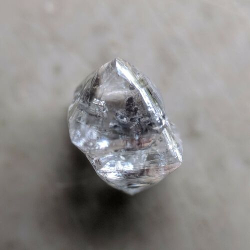 Engraving White D Color 1.11 Carat I1 Clarity Delightful Natural Rough Diamond