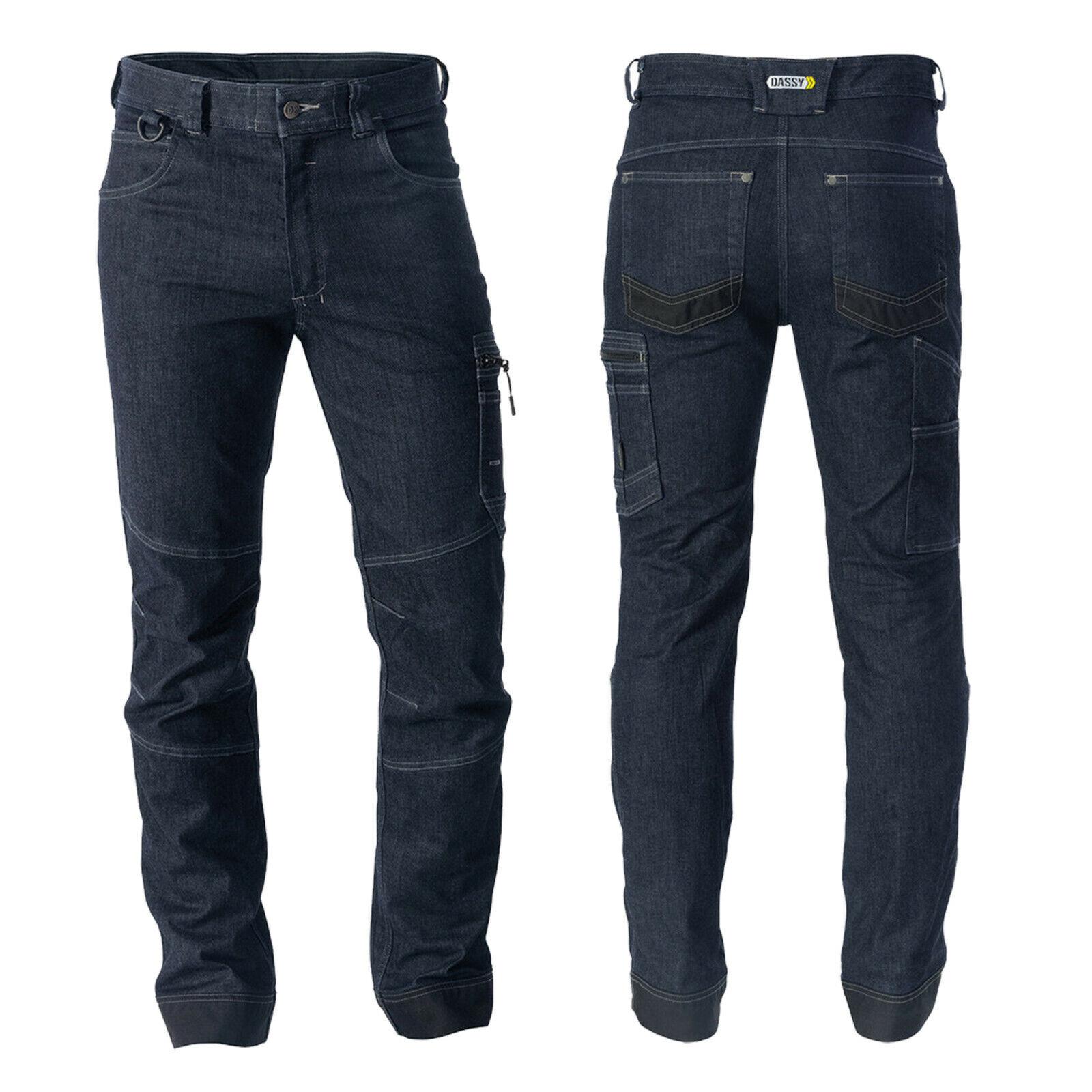 DASSY® Osaka Arbeitshose mit Stretch Herren Hose Workwear Herrenhose Jeanshose