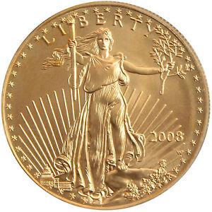 RANDOM YEAR Gold American Eagle (GAE) 1 Ounce (oz) $50 BU