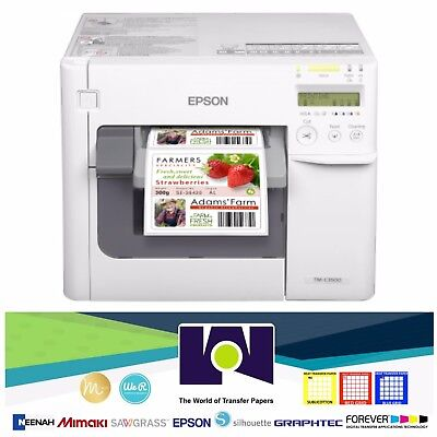 Epson TM-C3500 Color Label Printer  ColorWorks C3500 C31CD54011 Color Inkjet Label Printer