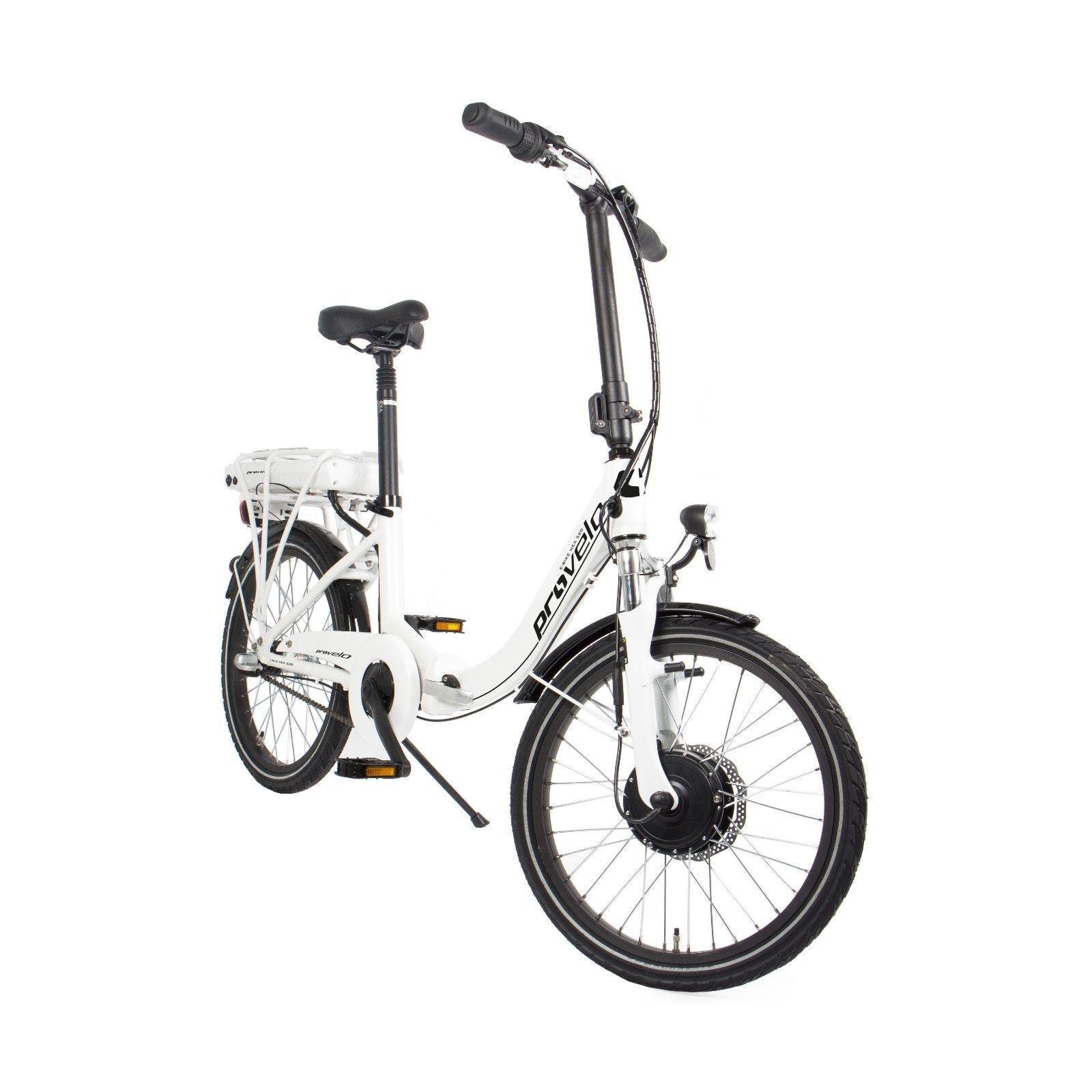 Elektrofahrrad Klapprad E-Bike Shimano 20