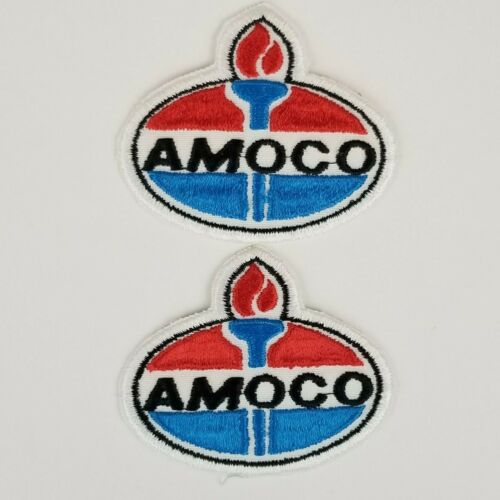 2 AMOCO Oil & Gas Patches