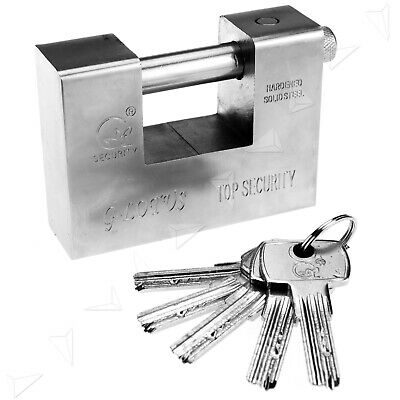 Heavy Duty Top Security Shipping Container Warehouse Garage Padlock