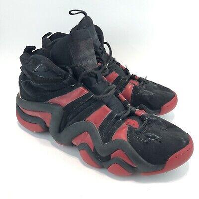 Adidas Crazy 8 Red White Black Kobe Bryant Basketball Shoe sz 12