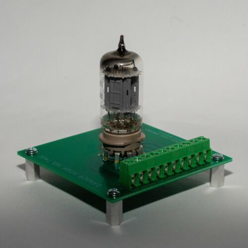9-Pin Socketed Vacuum Tube Breakout Board (NEW) FREE SHIPPING!