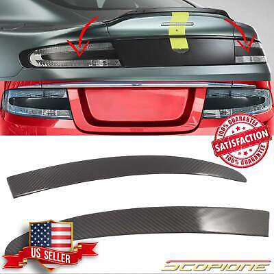 Scopione Carbon Fiber Tail Light Inserts for Aston Martin 05-19 Vantage DB9 DBS