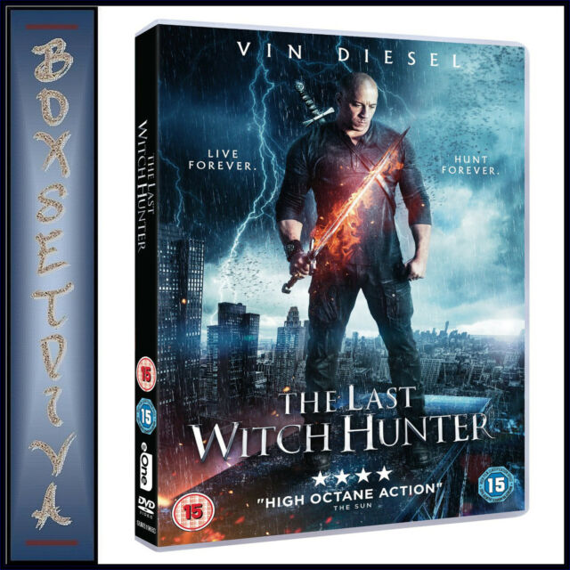 THE LAST WITCH HUNTER - Vin Diesel & Michael Caine  *BRAND NEW DVD***