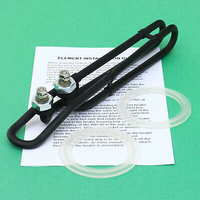 """Spa Heater Element COATED Hot Tub Heating Coil 5.5kw SIDE Terminal 9.8"""""""