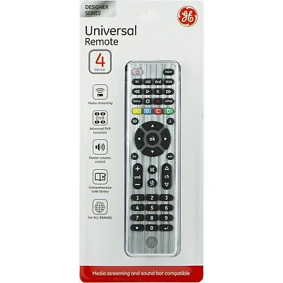 UNIVERSAL REMOTE 4 DEVICES MEDIA STREAMING&SOUND BAR COMPATIBLE