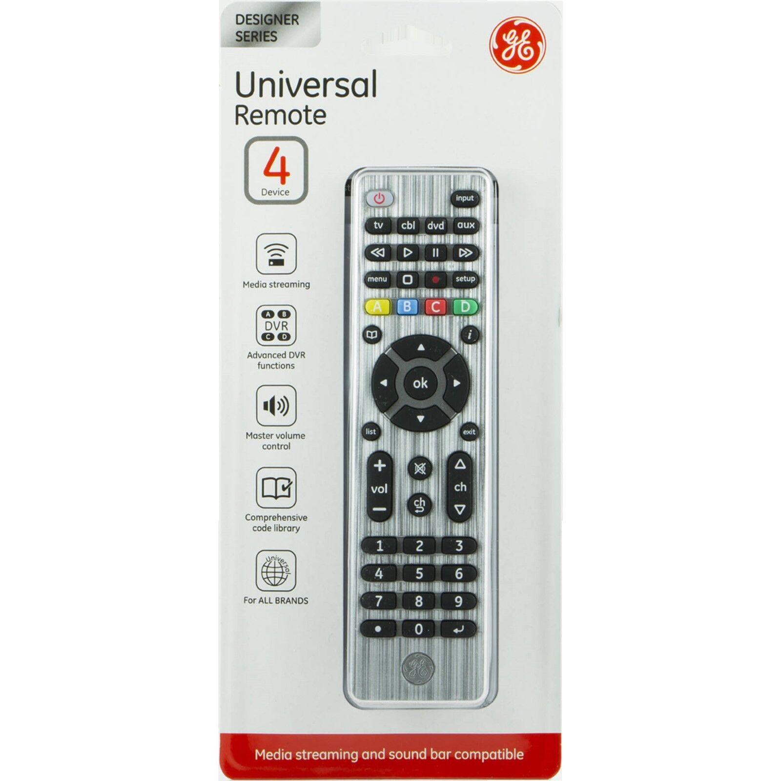 UNIVERSAL REMOTE 4 DEVICES MEDIA STREAMING&SOUND BAR COMPATI