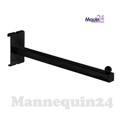 12 Gridwall Faceout For Grid Panels - Square Tubing - Black - 24 Pcs