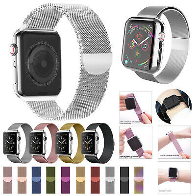 Milanese Magnetic Loop Stainless Steel Strap iWatch Band For Apple Watch 5/4/321