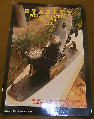 Book: Stanley Rule & Level Co. No.113, History and Study of the Compass Plane for sale  Pulborough