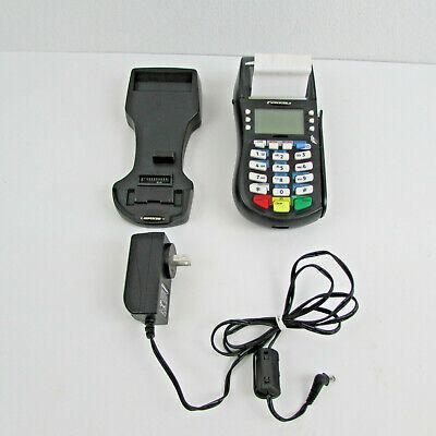 Hypercom M4230 Gprs Wireless Credit Card Machine With Power Cord Holder