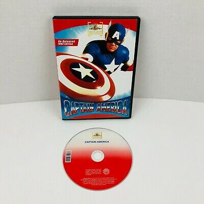 Captain America 1992 Movie (Captain America DVD 1992 Re-Released Edition Ronny)