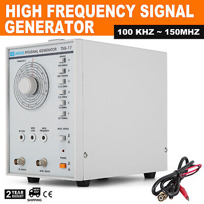 High Frequency Signal Generator Rf 100khz-150mhz Accurate Powerful 600 Good