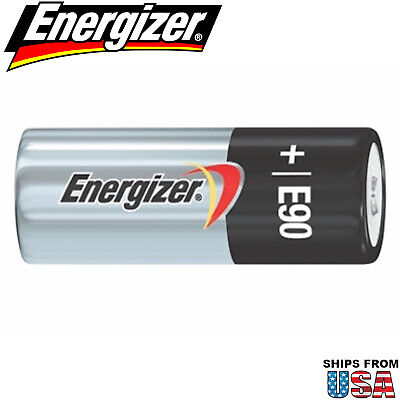 Energizer E90 1.5V Battery N Cell Replaces LR1G 4001 AM5 E90 E90BP-2 KN-1 KN-2, used for sale  Shipping to India