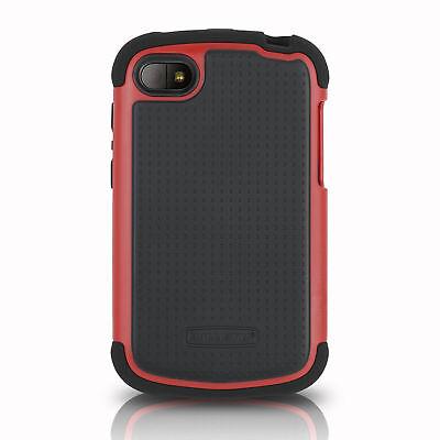 Ballistic SG1168-A305 Shell Gel Case for BlackBerry Q10 - Black/Red Sg Shell Gel