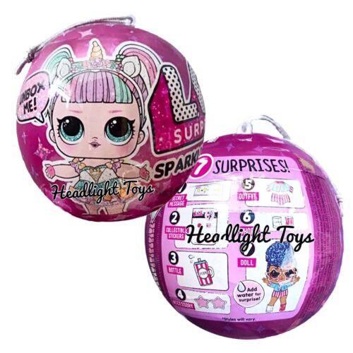 3 LOL Surprise Makeover Series 5 WAVE 2 Hairgoals Doll 3 Sparkle Balls 1 2 5 6 - $124.50
