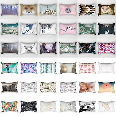 30×50cm Rectangular Pillow Case Sofa Waist Throw Cushion Cover Home Decor Cheap (Cheap Pillow)