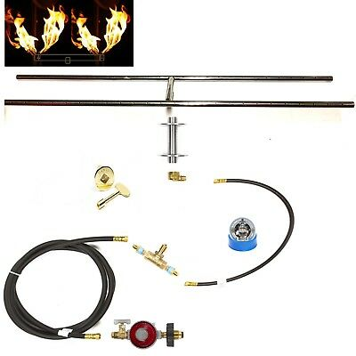 H30CK+: DELUXE PROPANE DIY GAS FIRE PIT KIT & 30