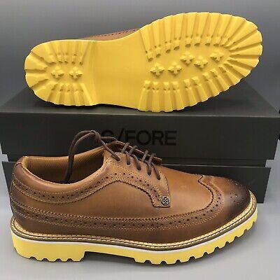 G/FORE B Fly Lug Sole Street Shoe Bubba Watson G4MF18F03 Mens golf shoes sz 10.5