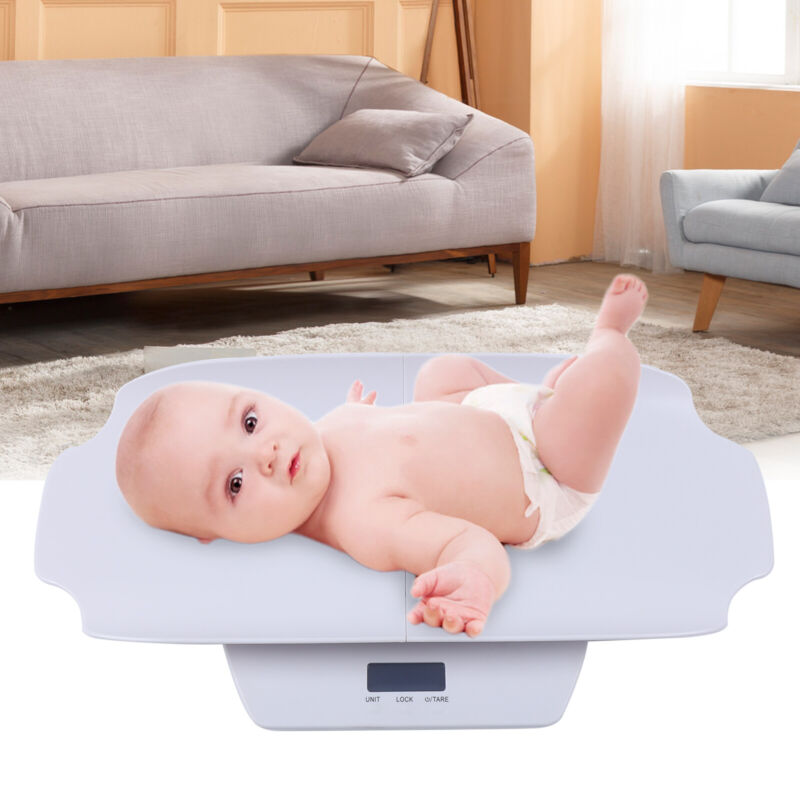 Multi-Function Infant Digital Weight Scale Pet Scale Baby Scale+Measuring Ruler