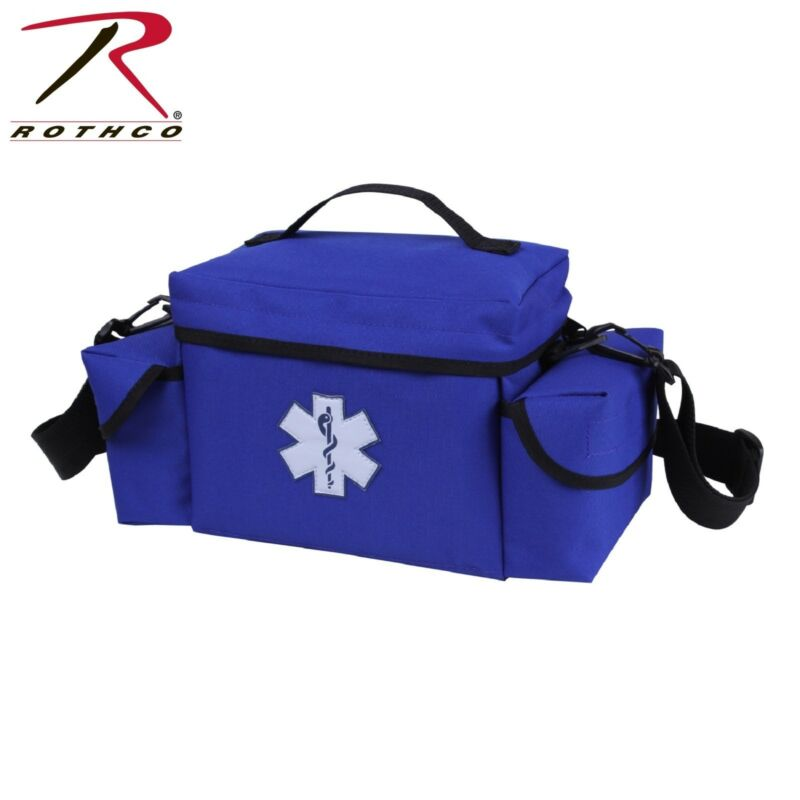 Blue EMS EMT Rescue Bag With Star Of Life Symbol - Small Medic Bag by Rothco