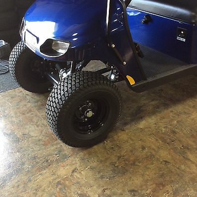 (Set Of 4 RIMS &TIRES for golf Cart Brand new Ready Mount on 2 Inch Lifted EZGO)