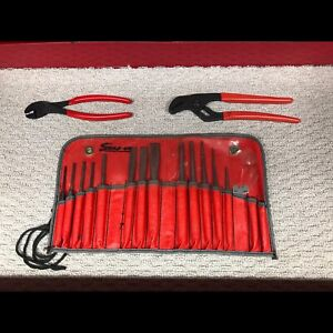 Snap-On pliers and punch set