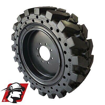 12x16.5 Maximizer Gt Tire Solid Skid Steer Tires 4 Tireswheels Volvo 12-16.5