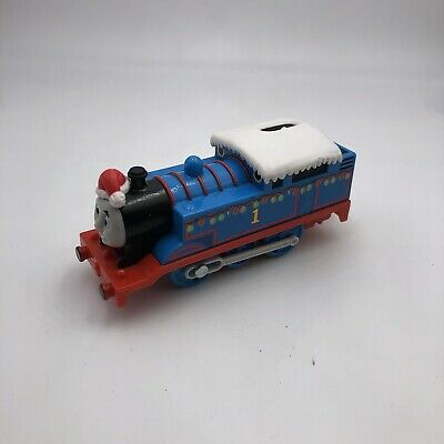 Thomas and Friends TrackMaster Thomas' Holiday Delivery Lights Santa Christmas