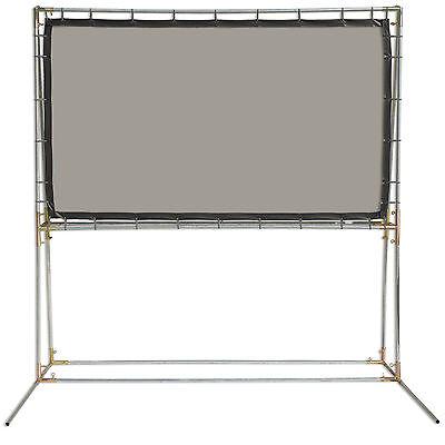 Rear Projection Screen Kit - Carl's Rear Projection Film, 16:9, 5x9, FreeStanding Projector Screen Kit, Gray
