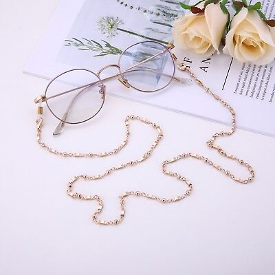 Fashion Rectangle Eyeglasses Chain Secure Holder Link Chain for Women (Strong Glasses Girl)