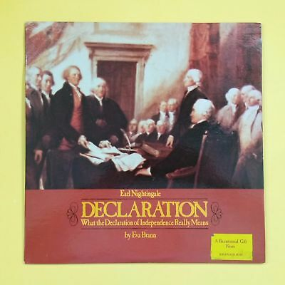 EARL NIGHTINGALE EVA BRANN Declaration 1776R Mono LP Vinyl VG++ Cvr VG++ Booklet, used for sale  Baltimore