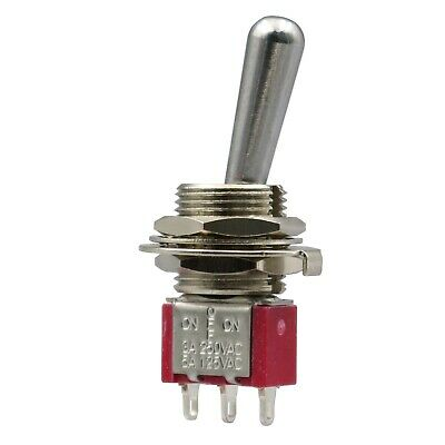 Sh T8014-z1 On-off-on Maintained 3pin Spdt Large Handle Mini Toggle Switch