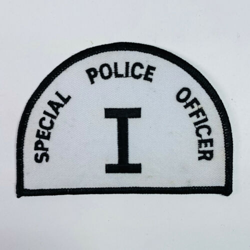 Special Police Officer I New Jersey Patch