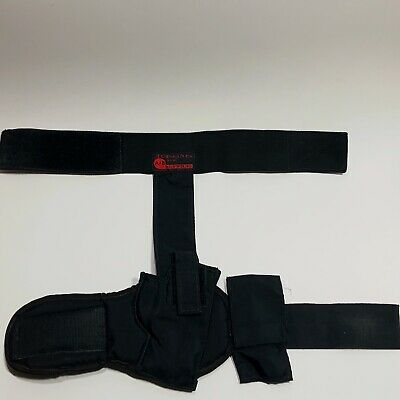 Handgun Ankle Holster (CONCEALED-CARRY) Pistol and Magazine Nylon Velcro Padded