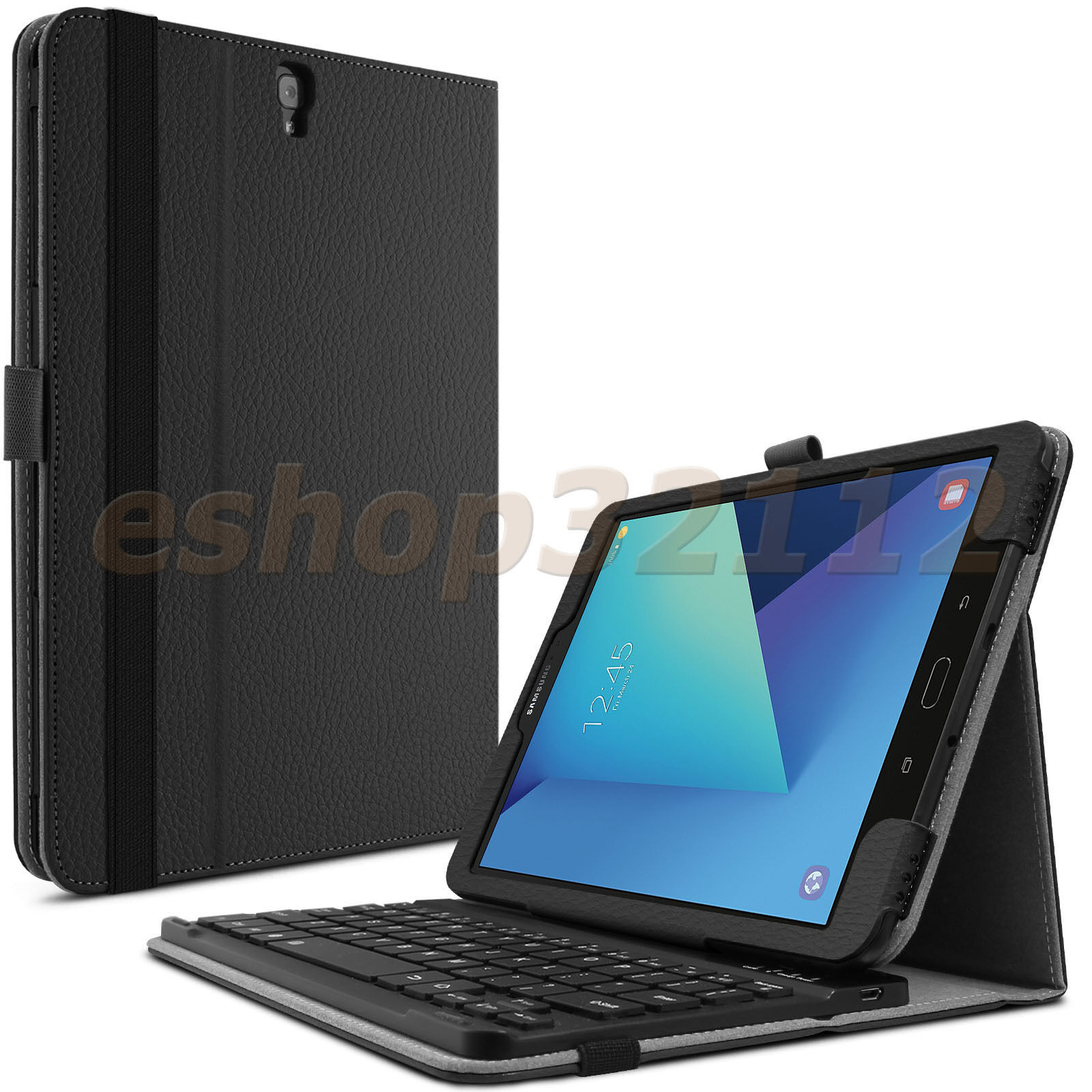 Detachable Bluetooth Keyboard Case Cover For Samsung Gala...
