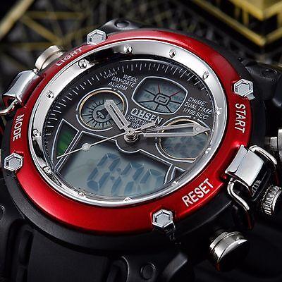 Kyпить Waterproof Military Watch Mens Multifunction Date Alarm LED Analog Digital Watch на еВаy.соm