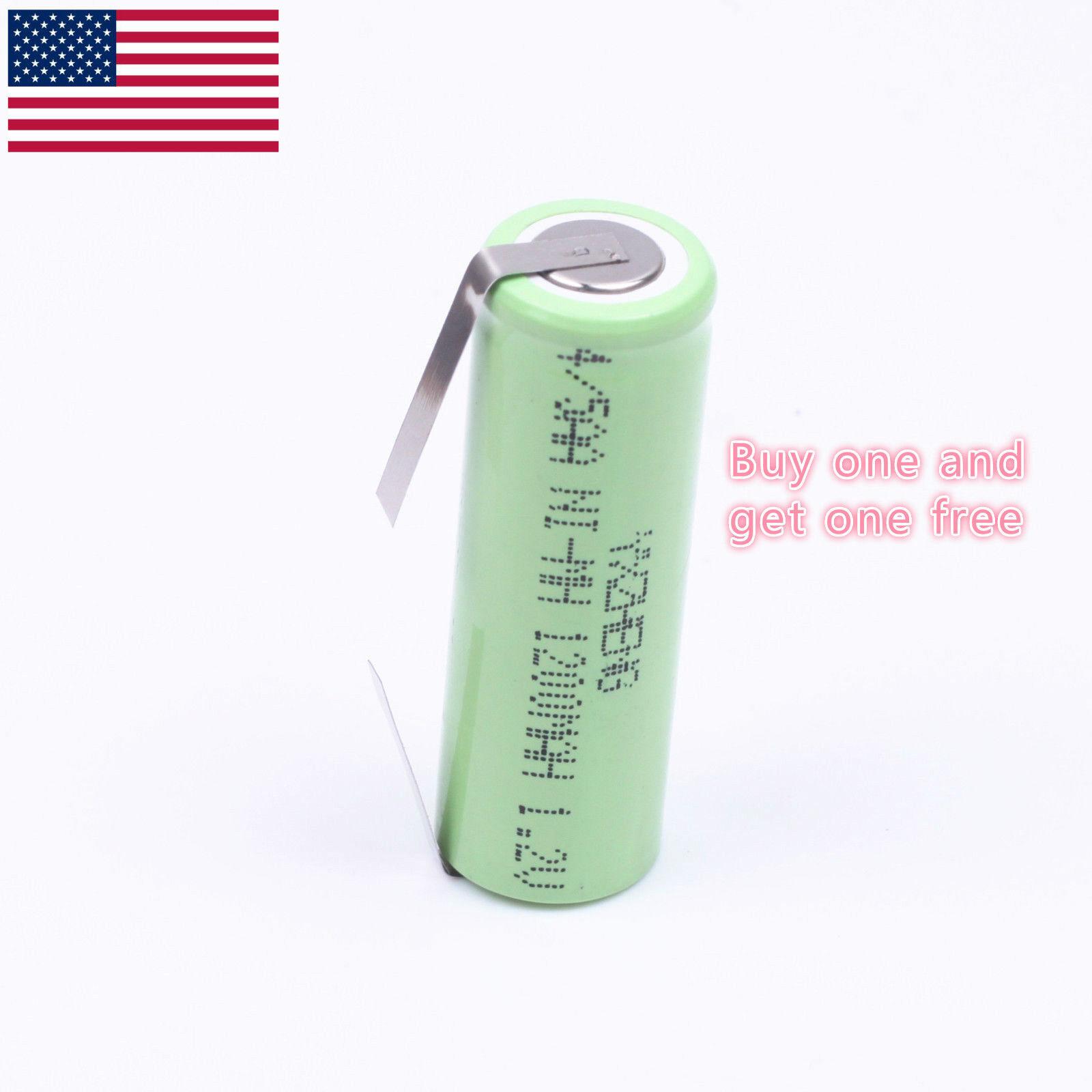 1.2V 4/5AA Braun Oral-B elctronic toothbrush Battery 1200mAh Ni-MH 42 x 14mm