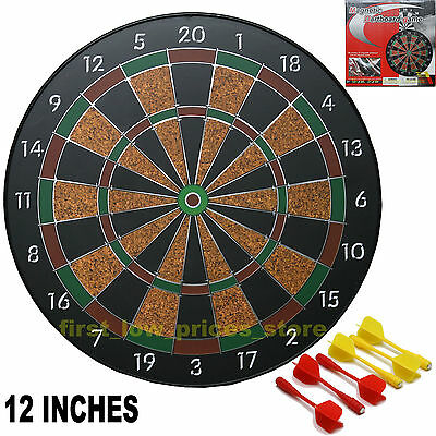 SAFE MAGNETIC DART BOARD DARTBOARD GAME INCLUDES 6 DARTS NEW IN BOX CHILD SAFE