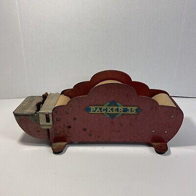 Packer 3s Vintage Tape Dispenser With Tape
